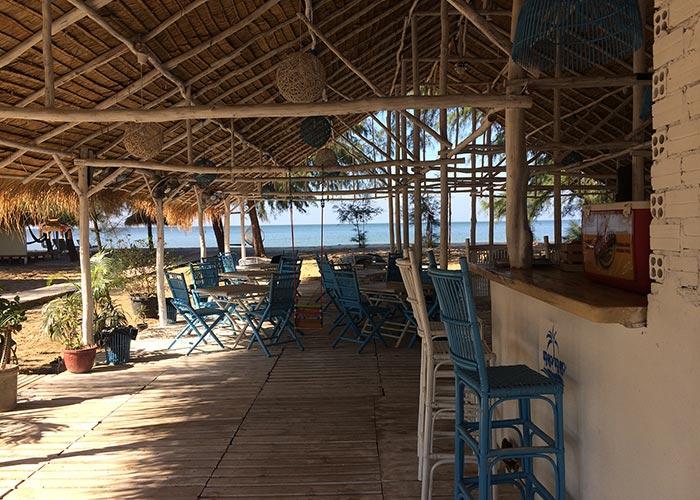 Kambodża Beach Bar